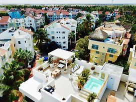 Luxurious Pent House Steps From The Beach H4 Los Corales Playa Bavaro photos Exterior
