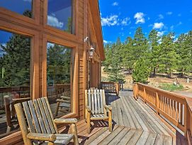 Scenic Bailey Cabin W/Deck, Fire Pit + Grill! photos Exterior
