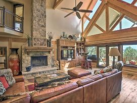 High-End Cabin Living W/ Hot Tub & Fire Pit! photos Exterior