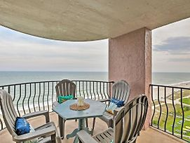 Myrtle Beach Resort Condo: 2 Oceanfront Balconies! photos Exterior