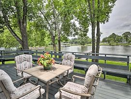 Waterfront Lake Hamilton Home W/Dock + Views! photos Exterior