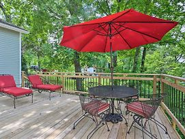 House With Furnished Deck On Lake Herrington! photos Exterior
