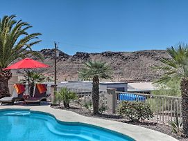 Mtn-View Lake Havasu Home W/Heated Pool & Spa photos Exterior