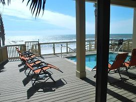 The Lighthouse 6 Bd Home With Beachfront Pool And Hot Tub photos Exterior