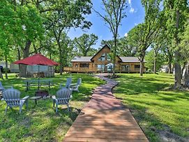 Spacious Pearl Lake Retreat With Private Dock! photos Exterior