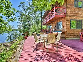 Waterfront Cabin On Long Lake With Dock, Kayaks! photos Exterior