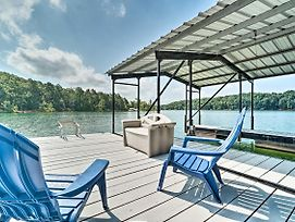 Sunny Lake Hartwell Home With Private Boat Ramp photos Exterior
