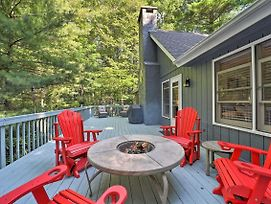 Beech Mountain Family Home With Deck And Fire Pit photos Exterior