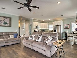 Spacious St Simons Home, 4 Mi To East Beach! photos Exterior