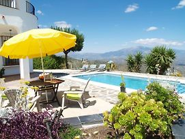 Holiday Home With Private Pool And Seaview Near Comares, Malaga photos Exterior