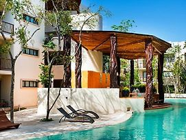 Private Pool Access 2Br Condo In The Best Location In Tulum By Happy Address photos Exterior