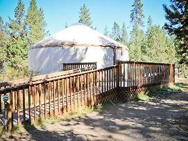 Bend Sunriver Camping Resort Wheelchair Accessible Yurt 13 photos Exterior