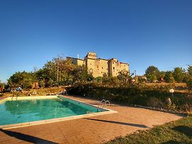 Medieval Castle With Swimming Pool In Forest In Umbria photos Exterior