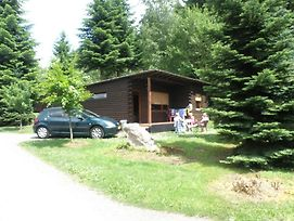 Tidy Furnished Wooden Chalet Located Close To The Forest photos Exterior