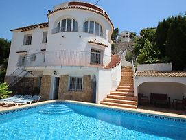 El Atarceder-6 - Sea View Villa With Private Pool In Benissa photos Exterior
