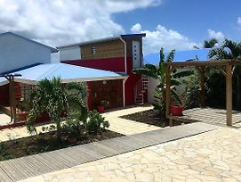 Villa With 3 Bedrooms In Sainte Anne With Wonderful Sea View Private Pool Enclosed Garden 3 Km From The Beach photos Exterior