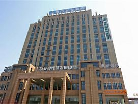 Greentree Inn Shanghai Jiading The South Of F1 Circuit Fangtai Hardware Market Express Hotel photos Exterior