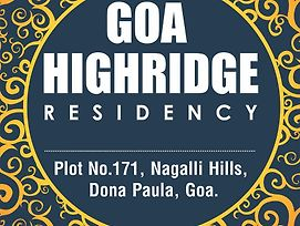 Goa Highridge Residency photos Exterior