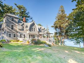 East Boothbay Oceanfront Home photos Exterior