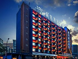 Lanmei Boutique Hotel Xiyuan West Station Branch Lanzhou photos Exterior