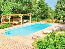 Magnificent Holiday Home In Roquetaillade With Pool photos Exterior