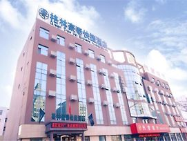 Greentree Inn Shandong Zibo Linzi People Square Long Term Bus Station East Express Hotel photos Exterior