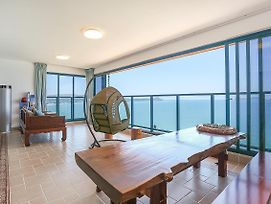 Double-Moon Bay Sunrise & Sunset Sea View Apartment photos Exterior