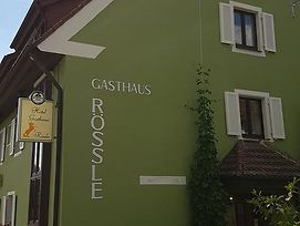 Hotel Gasthaus Rossle photos Exterior