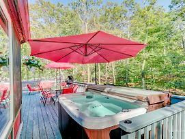 *** Pocono Bliss Home , Hot Tub, Sauna,Ski,Lakes, 1H30M To Nyc photos Exterior
