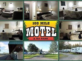 100 Mile Motel & Rv Park photos Exterior