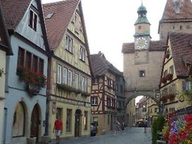 Pension Elke Rothenburg photos Exterior