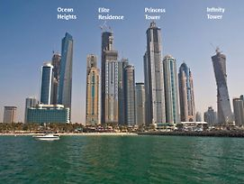 1Br Dubai Marina View Princess Tower 1609 photos Exterior