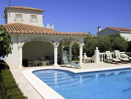 Villa With 3 Bedrooms In Ampolla, With Wonderful Sea View, Private Pool, Furnished Garden - 200 M Fr photos Exterior
