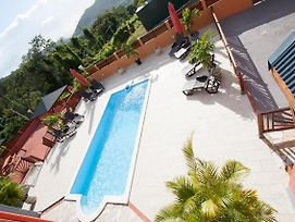 Apartment With One Bedroom In Deshaies With Pool Access Enclosed Garden And Wifi 900 M From The Beach photos Exterior
