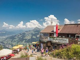 Hocheckhuette On Top Of The Kitzbuehel Hahnenkamm Mountain photos Exterior