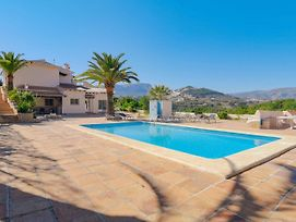 Beautiful Villa With Private Pool Near Sea In Calpe photos Exterior