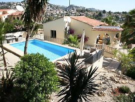 Luxurious Villa With Private Pool In Benissa photos Exterior
