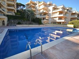 2924 Apartamento En S'Agaro Urb. Les Brises, Vistas Al Mar, Piscina Y Parking photos Exterior