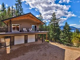 Semi-Lakefront Luxury Retreat In Blind Bay, Bc Cottage photos Exterior