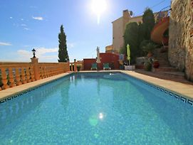 Vintage Holiday Home In Calpe With Private Pool photos Exterior