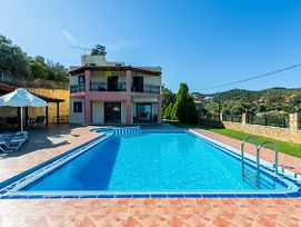 Ano Stalos Villa Sleeps 6 Pool Air Con Wifi photos Exterior