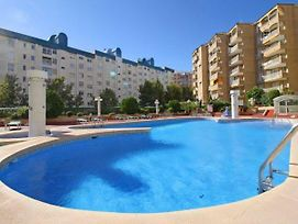 Calpe Apartment Sleeps 3 Pool Air Con Wifi T792094 photos Exterior