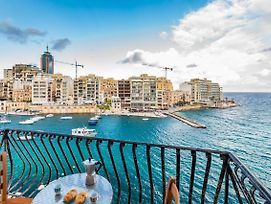 Getawaysmalta Spinola Bay Mansion Seafront Apartment photos Exterior