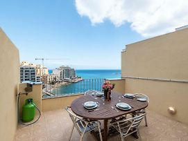 Getawaysmalta Spinola Bay 1 Bedroom Seafront Penthouse St Julian Near Paceville photos Exterior