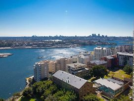 Pyrmont Harbour High Floor With Amazing Waterview photos Exterior