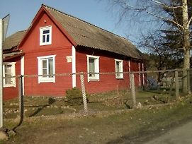 Karelian House In The Soviet Style Red House photos Exterior