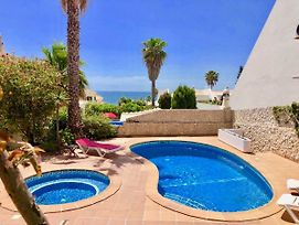 Stunning Villa With Sea View, Private Pool And Jacuzzi photos Exterior