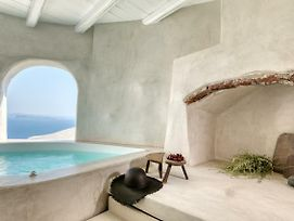Marble Sun Villa With Jacuzzi By Caldera Houses photos Exterior