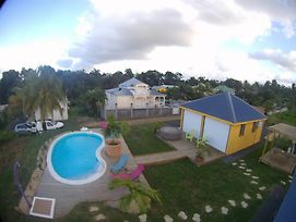Bungalow With One Room In Ste Rose, With Wonderful Sea View, Pool Acce photos Exterior