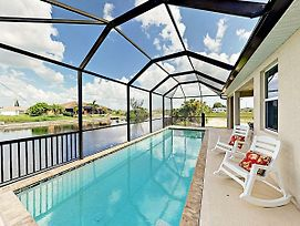 Brand New Cape Coral Canal 4 Bedroom Home photos Exterior